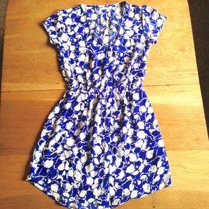 Kimchi Blue Floral Button Up Dress